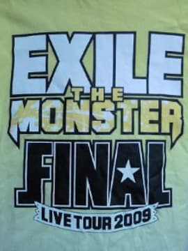 EXILE THE MONSTER ライブ コンサート ツアー FINAL Tシャツ XSサイズ イエロー 09