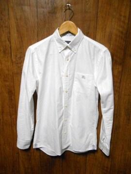 □バーバリーブラックレーベル ホース刺繍 シャツ 長袖/メンズ/1(S)