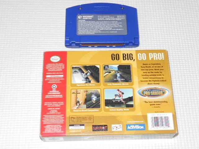 N64★TONY HAWK'S PRO SKATER 海外版(国内本体動作不可) < ゲーム本体/ソフトの