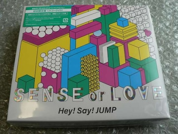 新品/Hey!Say!JUMP【SENSE or LOVE】初回限定盤(2CD+DVD)他出品