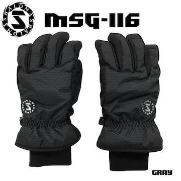 マシャロMASHALO スノーグローブ スキー メンズ MSG-116 GRAY