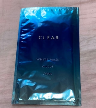 オルビス☆クリアホワイトマスク1枚♪パック
