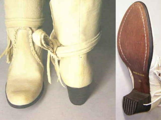 サヴァサヴァcavacava ショートブーツ新品76107IV 24cm < 女性ファッションの