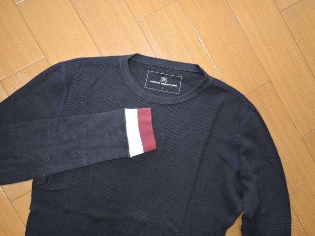 uniform experimentカットソー1紺ロンTソフネットSOPHNET. < ブランドの