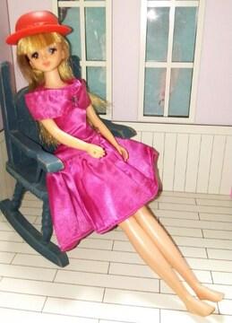 レアリカちゃんキャッスル90年代製お人形教室初代ジェニー人形ドール本体難有り