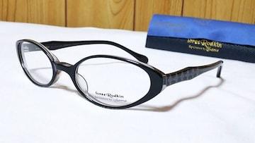 正規未 ローリーロドキン 6連プリンセスクロス リフレクションフレームメガネ 黒 ゴシックサングラス