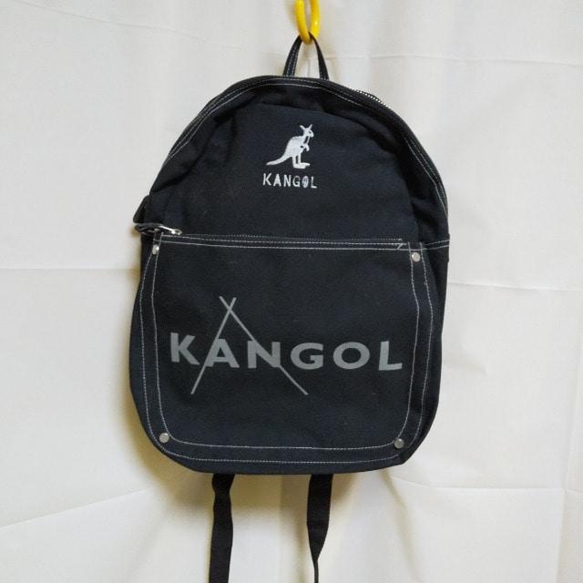 KANGOL★おしゃれリュック★中古品  < ブランドの