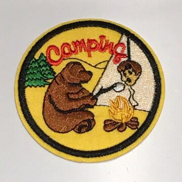 クマさん くま キャップワッペン1枚★