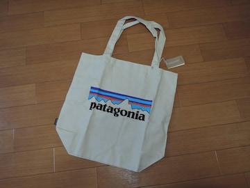 新品 patagonia パタゴニア トートバッグ TOTE エコ BAG LOGO