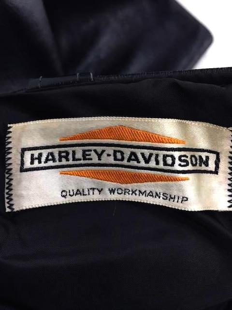 HARLEY-DAVIDSON(ハーレーダビッドソン)旧タグ ビンテージレザーパンツ CONMAR製 < 男性ファッションの