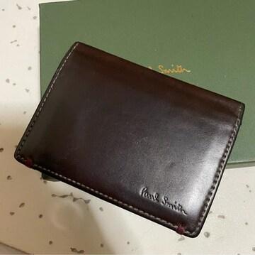 1スタ 超オススメ☆ポールスミス レザー パスケース