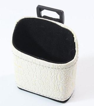携帯ポケットケース/ホワイトiphoneなど小サイズ