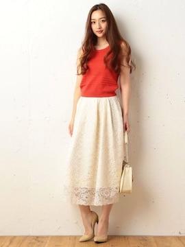 ロイヤルパーティ ボリュームレーススカート