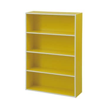 文庫本収納ラック 本棚カラーボックス ウォルナット
