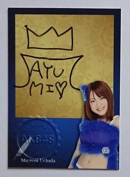 元AKB48.5期生&実業家!内田眞由美・オフィシャル直筆サインカード