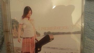 激安!激レア!☆YUI/I remember you☆初回限定盤/CD+DVD美品!