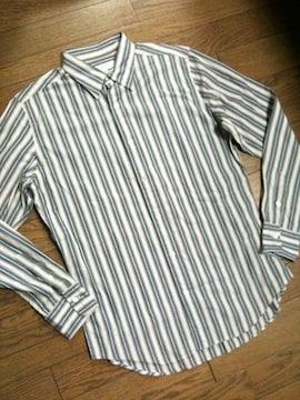 美品UNITED ARROWS ストライプシャツ 日本製 アローズ