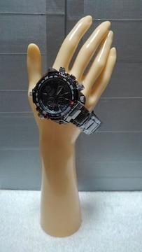 club face �U black メンズ メタル 腕時計☆CF-1060 新品