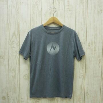 即決☆マーモット特価MARKロゴ半袖Tシャツ BLK/XLサイズ 新品