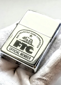ZIPPO FTC SAN FRANCISCO GAME COMMISSION スケートボード用品店