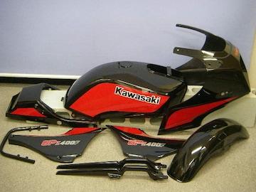GPZ400 塗装用マスキングステッカー�D