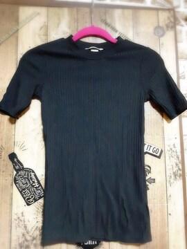 H&M■ラウンドネックTシャツ■XSサイズ■1円スタート