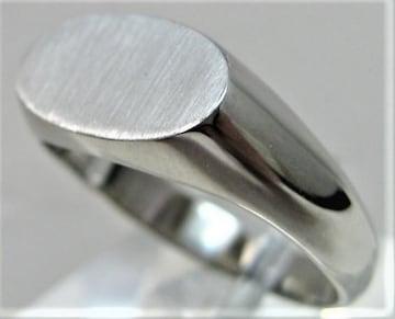 プラチナ リング 印台 指輪 サイズ#23 男女兼用
