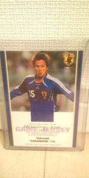 2006 日本代表 福西崇史 ジャージカード