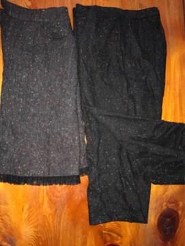 冬用 ズポン+スカート深灰〓色サイズ11(L)