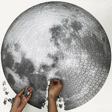 月 ジグソーパズル 1000ピース