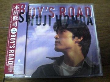 本田修司CD BOY'S ROAD ボーイズ・ロード
