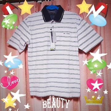ミスタージュンコのポロシャツ(XL) 新品タグ付き!。