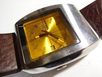 ディーゼル 腕時計クォーツ 製 動作確認済!。