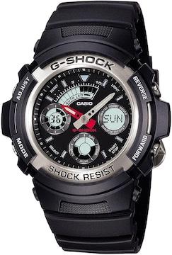 送料無料 G-SHOCK CASIO カシオ デジタル腕時計 AW-590-1A