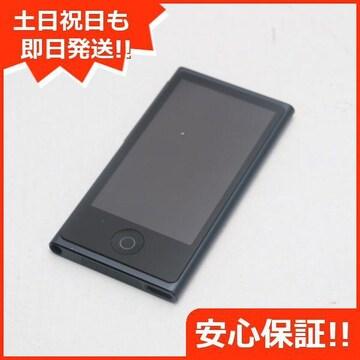 ●安心保証●超美品●iPod nano 第7世代 16GB スペースグレイ