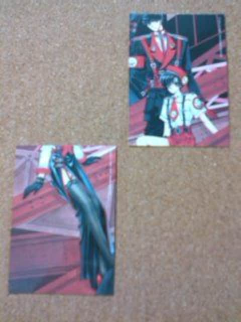 ●X/CLAMP/カード5枚 < アニメ/コミック/キャラクターの