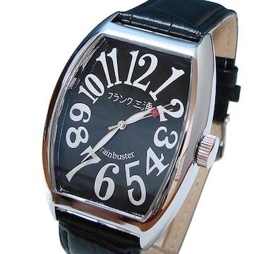 送料無料 フランク三浦 腕時計 ハイパーブラック FM06K-B