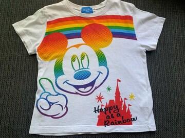 東京ディズニーリゾート 半袖Tシャツ130センチ