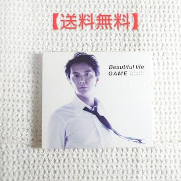 福山雅治 Beautiful lifeGAME 初回限定 CD+DVD  「Beautifu