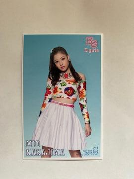 E-girls☆中島美央トレカ(^○^)