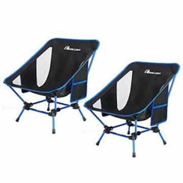 Lence アウトドアチェア より安定 キャンプ椅子 低い 軽量 折り