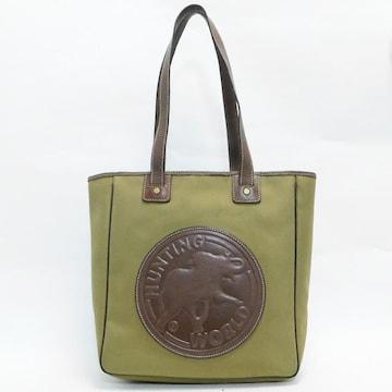ハンティングワールド トートバッグ キャンバス 良品 正規品