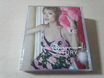 浜崎あゆみCD+DVD「MY STORY」●