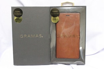 GRAMAS☆グラマス アイフォンXレザーケース【TOIANO】GLC-70317DBR