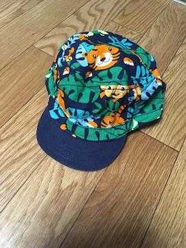 ベビーキャップ帽子・アニマル柄・H&M購入・サイズ9-12M