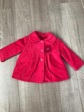 美品ベビチビ女の子コート90西松屋購入ピンク