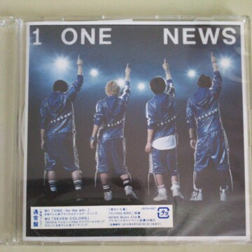 NEWS◇ONE -for the win -通常盤 CD◇中古美品