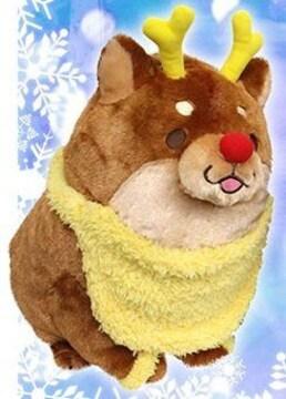 忠犬もちしば クリスマスBIGぬいぐるみ 2015 「つな」