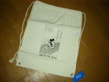 新品エクストララージXLARGE×ミッキーナップサック鞄DISNEY