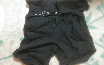 mystic サイズ2 黒 美品 短パンツ